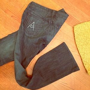 "7 For All Mankind ""A"" Pocket Bootcut Jeans Size 30"